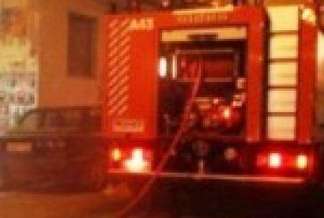 Φωτιά σε πολυκατοικία στο κέντρο του Αγρινίου