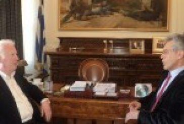 Συναντήσεις για το Πανεπιστήμιο,στο Αγρίνιο ο Παπάζογλου