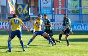 Πανθρακικός-Παναιτωλικός 1-1, xωρίς νίκη για τρίτο σερί παιχνίδι