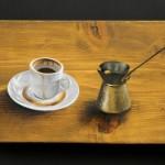 Ο ελληνικός καφές ως έμπνευση στην 10η ατομική έκθεση του Χρ.Γαρουφαλή