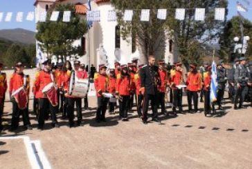 Η τελετή αποκαλυπτηρίων προτομής του πεσόντος Σμηναγού Σταύρου Χαρίτου, στον Εμπεσό