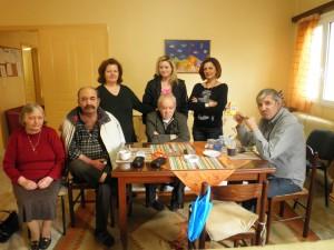 Το agrinionews στον ξενώνα Ίριδα με τους φιλοξενουμένους