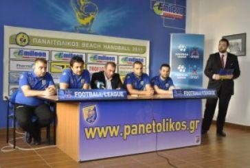 Με φιλοδοξίες το beach handball του Παναιτωλικού στη Μάλαγα