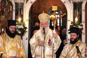 Στο Αγρίνιο ο Αρχιεπίσκοπος, ανακηρύσσεται αύριο Επίτιμος Δημότης