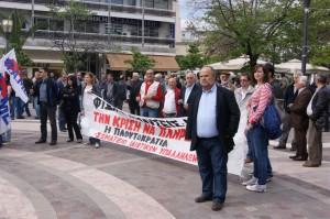 Η απεργία στο Αγρίνιο είχε και συμπλοκές