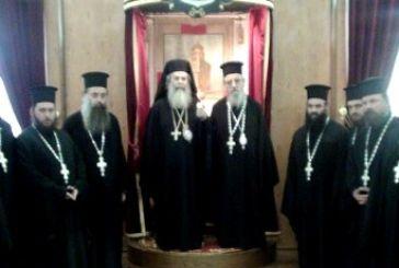 Ο Αιτωλίας Κοσμάς προσέφερε 5.000 ευρώ για τις ανάγκες του Πατριαρχείου