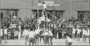 Μοναδικές φωτογραφίες από τις γυμναστικές επιδείξεις στο παλιό Αγρίνιο