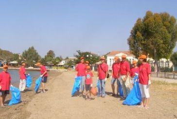 Δήμος Μεσολογγίου:  Καθαρίζουμε τις ακτές μας, καθαρίζουμε την πόλη