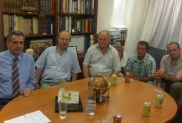 Συνάντηση Μακρυπίδη με αντιπροσωπεία του ΤΟΕΒ Χρυσοβίτσας