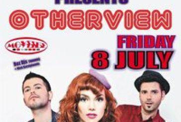 Παρασκευή 8 Ιουλίου: Οι «Otherview» live στo club Μούσσες!