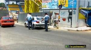 Συλλήψεις και διακοπή των εργασιών στο γήπεδο του Παναιτωλικού  (video)