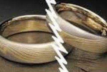 75 διαζύγια το 2011 στην περιοχή μας