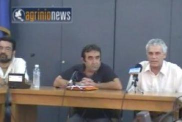 Συνέντευξη τύπου των Οικολόγων Πράσινων στο Αγρίνιο(Vid)