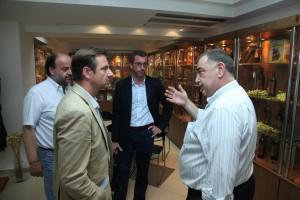 Eνημέρωση από το Επιμελητήριο για την επίσκεψη ευρωβουλευτών