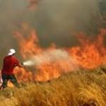 Πυρκαγιά στο Θέρμο