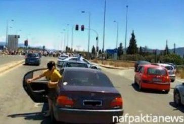 Βίντεο από τις κινητοποιήσεις των ταξιτζίδων στη Γέφυρα Ρίου- Αντιρρίου
