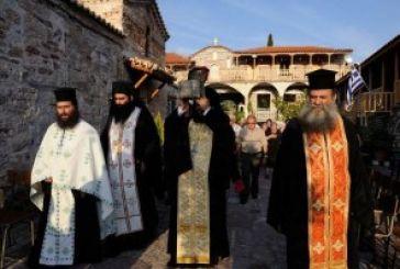 Η τιμία Κάρα του Αγίου Ιωάννου του Νηστευτού στην Ιερά Μονή Μυρτιάς