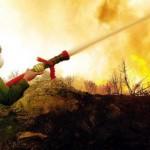 Υπό έλεγχο πλέον η πυρκαγιά στην Παλαιοκαρυά Παραβόλας