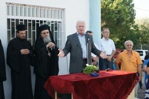 Τι είπε ο δήμαρχος Αγρινίου την πρώτη μέρα της σχολικής χρονιάς