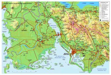 O xάρτης του διευρυμένου Δήμου Ιεράς Πόλεως Μεσολογγίου