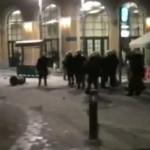 "Aθήνα επεισόδια: Επίθεση δέχτηκε ο ""Μπαϊρακτάρης"" (Vid)"