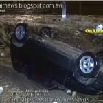 Αυτοκίνητο παρασύρθηκε από ορμητικά νερά στην ΕΟ Αντιρρίου – Ιωαννίνων (VIDEO)