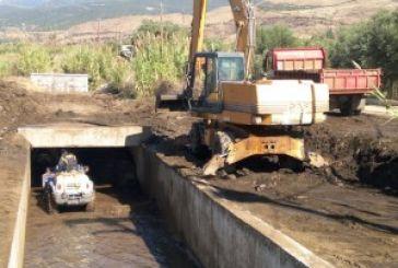 Mεσολόγγι:εργασίες συντήρησης και καθαρισμού αγροτικών δρόμων και ρεμάτων