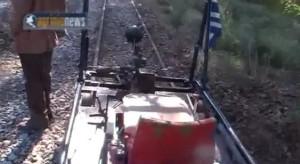 """Αγγελόκαστρο-Αγρίνιο: Το τρένο """"ξανασφύριξε"""" μετά από δεκαετίες!(Video)"""