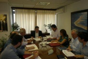 Σύσκεψη εργασίας Μωραΐτη – Κατσούλη
