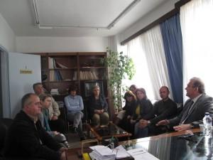 Eίδε υπαλλήλους ο Αποστολόπουλος