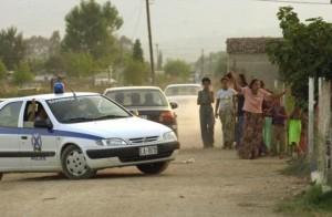 Αστυνομική επιχείρηση σε καταυλισμούς του Αιτωλικού