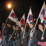 Συλλαλητήριο του ΠΑΜΕ  στο Αγρίνιο κατά της νέας κυβέρνησης