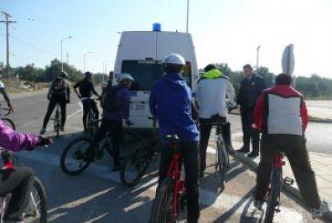 H αστυνομία, οι ποδηλάτες και το συμβάν της Κυριακής