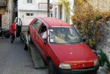 40 εγκαταλειμμένα οχήματα στο δήμο Ι.Π.Μεσολογγίου…