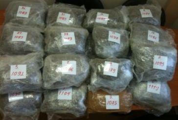 Eκτός έδρας επιτυχία της Δίωξης Ναρκωτικών Αγρινίου