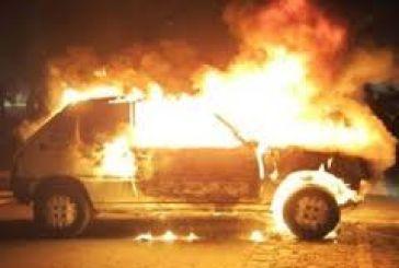 Παρανάλωμα του πυρός Ι.Χ. όχημα στο Αγρίνιο