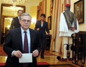Πρωθυπουργός ο Λουκάς Παπαδήμος