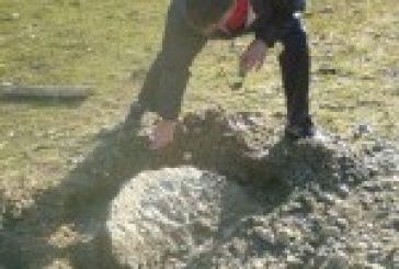 Βρέθηκε αρχαίος αμφορέας κοντά στην Κατούνα