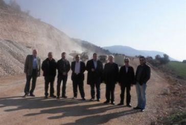 Πρόοδο εργασιών είδε το ΤΕΕ στον άξονα Άκτιο – Αμβρακία