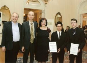 Βράβευση Αγρινιωτών μαθητών στη Βρετανική Πρεσβεία
