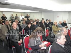 """""""Πρώτη"""" του συνδέσμου Εθνικής Ενότητας στη Ναύπακτο"""