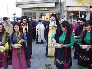 Η Κατούνα υποδέχθηκε το λείψανο του Αγίου Νεκταρίου Πενταπόλεως