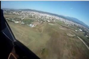 Από τα Μέγαρα στο Αγρίνιο με ελικόπτερο