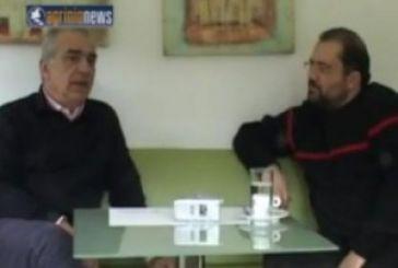 O Δημήτρης Σταμάτης εφ' όλης της ύλης στο agrinionews.gr
