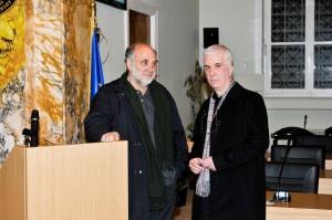 Ο σκηνοθέτης Φ. Κουτσαφτής εγκαινίασε τον 3ο Εικαστικό Κύκλο .