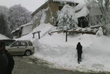 H χιονόπτωση προκάλεσε τον θάνατο ηλικιωμένης