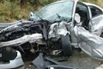 Δύο σοβαρά τραυματίες σε τροχαίο κοντά στη Βόνιτσα
