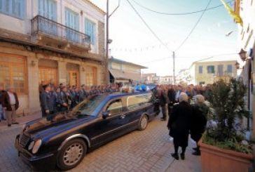 """Ύστατο """"αντίο"""" στον Ανδρέα Καραγκούνη"""