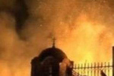 Σοβαρές ζημιές στο μοναστήρι της Παναγίας Σκλάβαινας