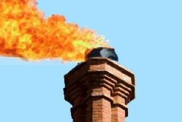 Φωτιά σε καμινάδα στο κέντρο του Αγρινίου